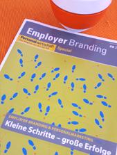 Titelblatt der Sonderausgabe der Personalwirtschaft zum Employer Branding Round Table 2017