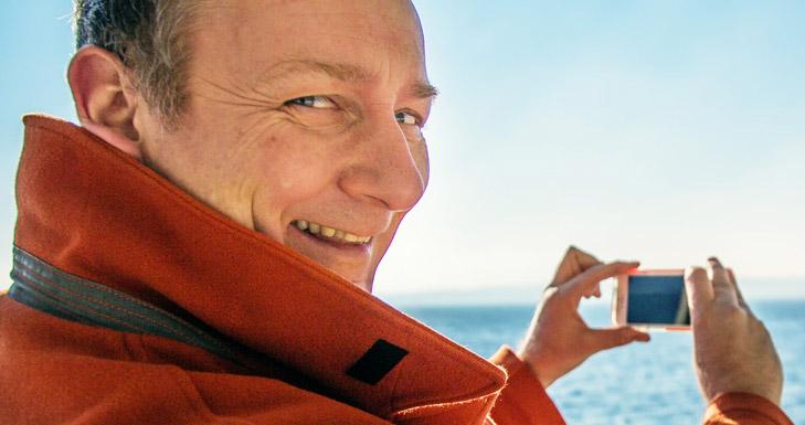 Foto von Oliver Gäbel, Geschäftsführer von Recruvis, Filmemacher